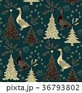 クリスマス 樹木 樹のイラスト 36793802