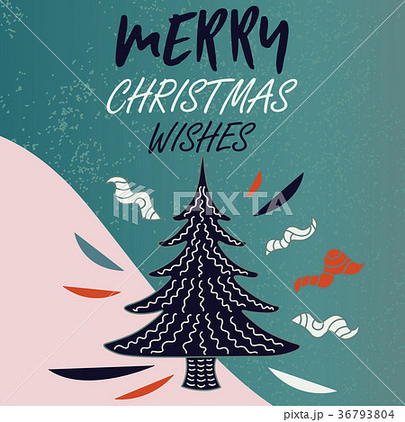 Winter holiday card.  36793804