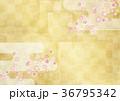 桜 背景素材 和のイラスト 36795342
