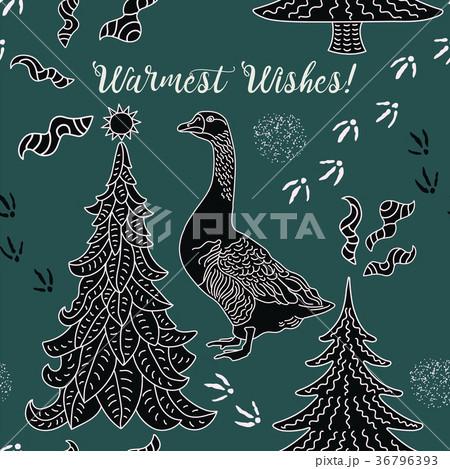 Winter holiday card. 36796393