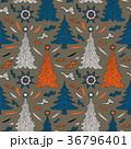 クリスマス 樹木 樹のイラスト 36796401