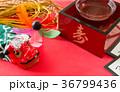 正月イメージ 日本酒 升 獅子舞 稲穂 百人一首 かるた 36799436