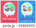 クリスマス イラスト イラストレーションのイラスト 36800935