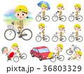 女 女性 ヘルメットのイラスト 36803329