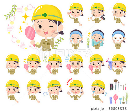 helmet construction worker women_beauty 36803338