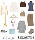 ファッショングッズ ファッション雑貨 服飾雑貨のイラスト 36805734