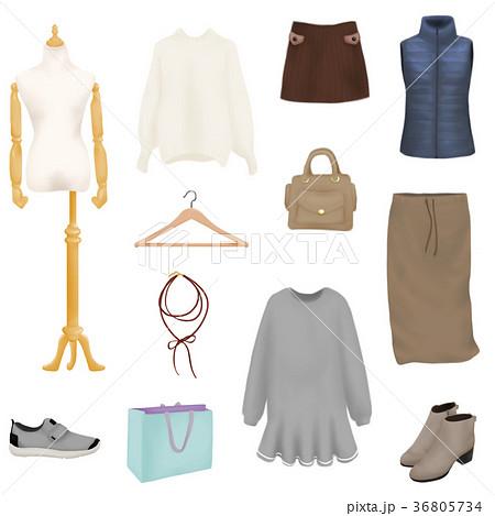 ファッショングッズ ファッション雑貨 服飾雑貨のイラスト素材 ...