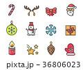 クリスマス テーマ 主題のイラスト 36806023