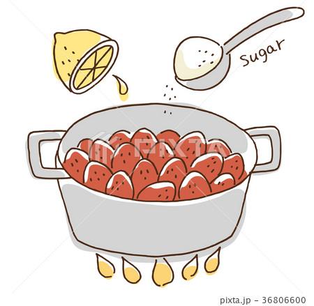 レシピ いちご ジャム
