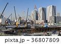 大規模建設現場 晴海 36807809
