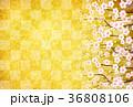 梅 背景 春のイラスト 36808106