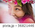 女性 ポートレート フラの写真 36821446