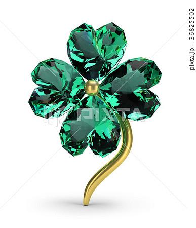 emerald clover 36825502
