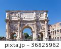 ローマ 凱旋門 コロッセオの写真 36825962