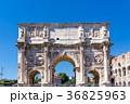 ローマ 凱旋門 コロッセオの写真 36825963