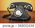 電話 黒色 黒のイラスト 36832438