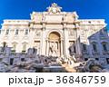 ローマ トレビの泉 噴水の写真 36846759