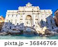 ローマ トレビの泉 噴水の写真 36846766