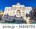 ローマ トレビの泉 噴水の写真 36846769
