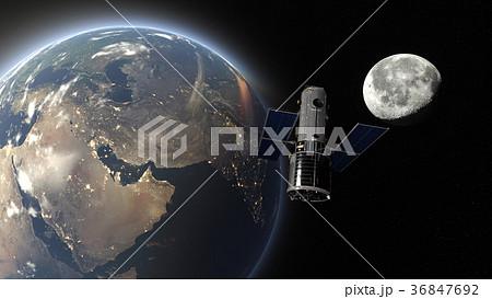 人工衛星 36847692