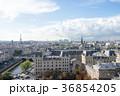 ノートルダム大聖堂から見るパリ市街の風景 36854205