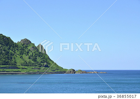 北見神威岬の写真素材 [36855017...