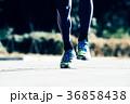 ランニングをする男性 足下 ジョギング マラソン 36858438