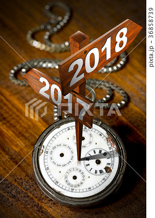 Happy New Year 2018 - Watch with Signs 36858739
