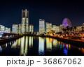 横浜市 夜 夜景の写真 36867062