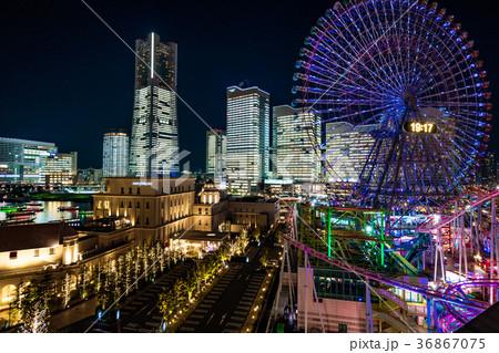【神奈川県】夜の横浜 36867075