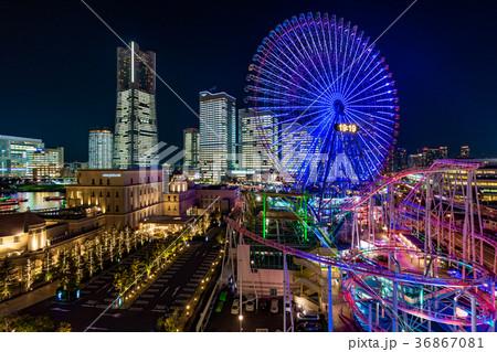 【神奈川県】夜の横浜 36867081