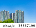 空 ビル 建物の写真 36867199