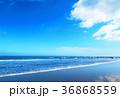海 青空 波の写真 36868559