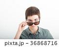 サングラス 美しい 女の子の写真 36868716