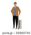 人物 旅行 男性のイラスト 36869740