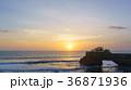 夕焼け 海 太陽の写真 36871936