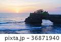 夕焼け 海 太陽の写真 36871940