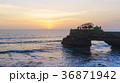 夕焼け 海 太陽の写真 36871942