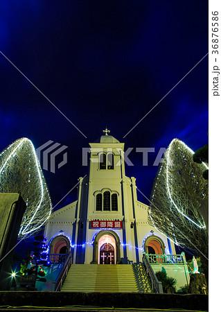 紐差教会 平戸 クリスマスイルミネーション 長崎の教会群 36876586