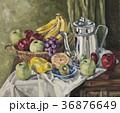 果物とティーポット 36876649