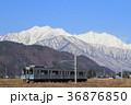 鉄道 大糸線 電車の写真 36876850