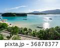 川平湾 海 砂浜の写真 36878377