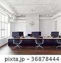 Modern loft office interior. 36878444