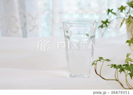 一杯のお水の写真素材 [36879351] - PIXTA