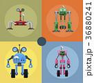 ロボット メカニカル 機械式のイラスト 36880241