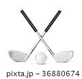 GOLF ゴルフ クラブのイラスト 36880674