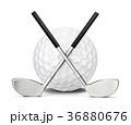 GOLF ゴルフ クラブのイラスト 36880676