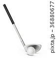 GOLF ゴルフ クラブのイラスト 36880677