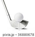 GOLF ゴルフ クラブのイラスト 36880678