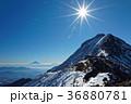八ヶ岳連峰・赤岳と富士山 36880781